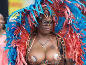 Nude carnival Is Topless