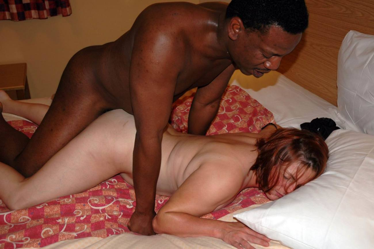 Only a black stud can make this white wife cum