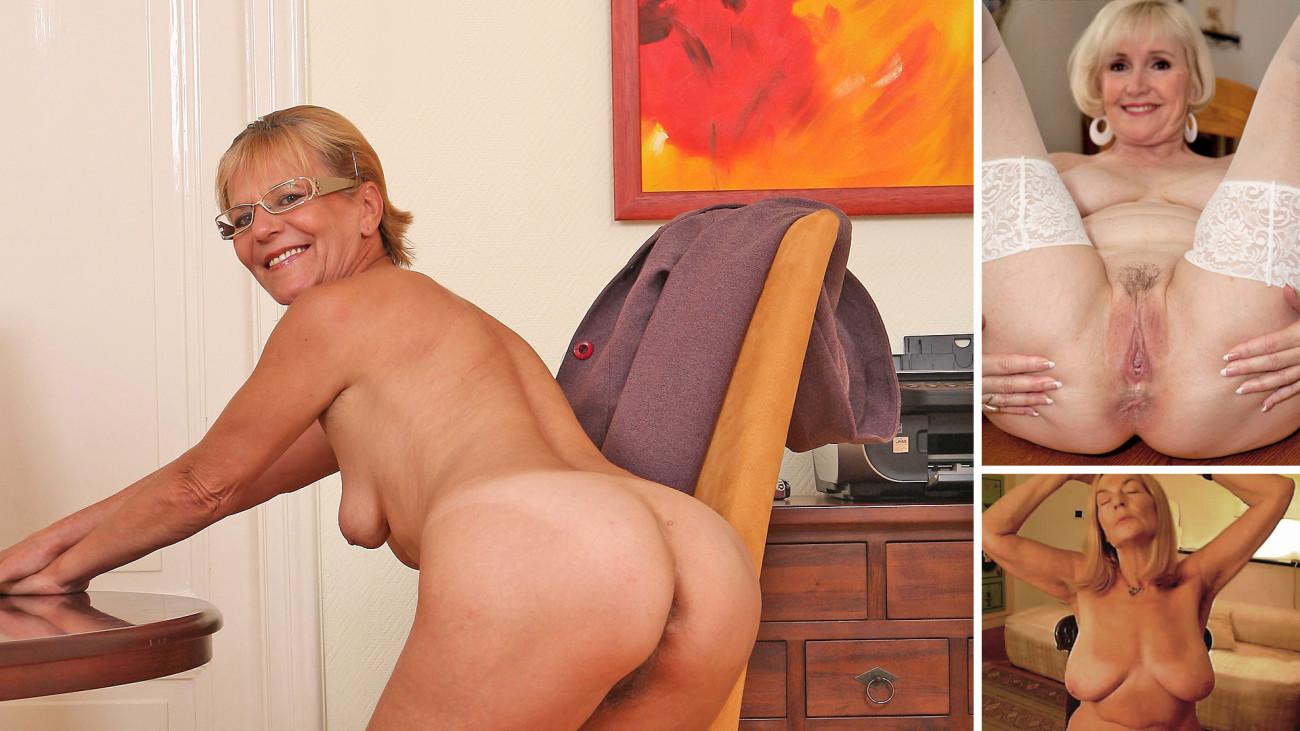 Spanish Nude Older Gals