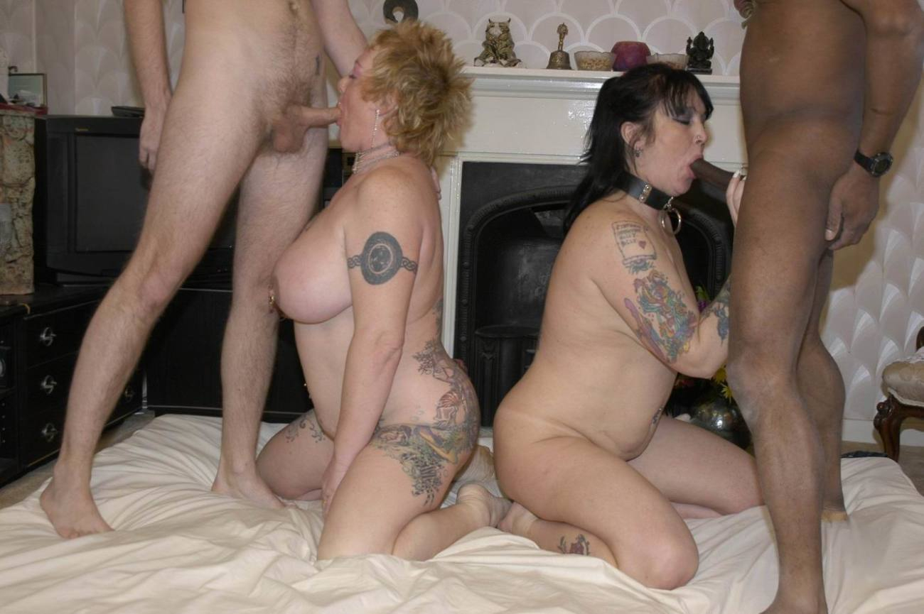 Fantastic Nude Foursome With The Wives Craving To Swap
