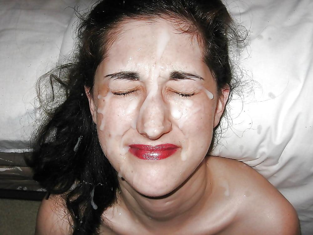 Clumsy facial cumshot pics - Other