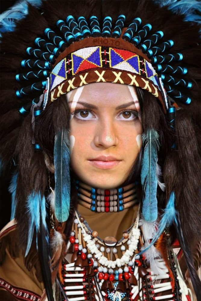 Indian Face Paint Meanings -..