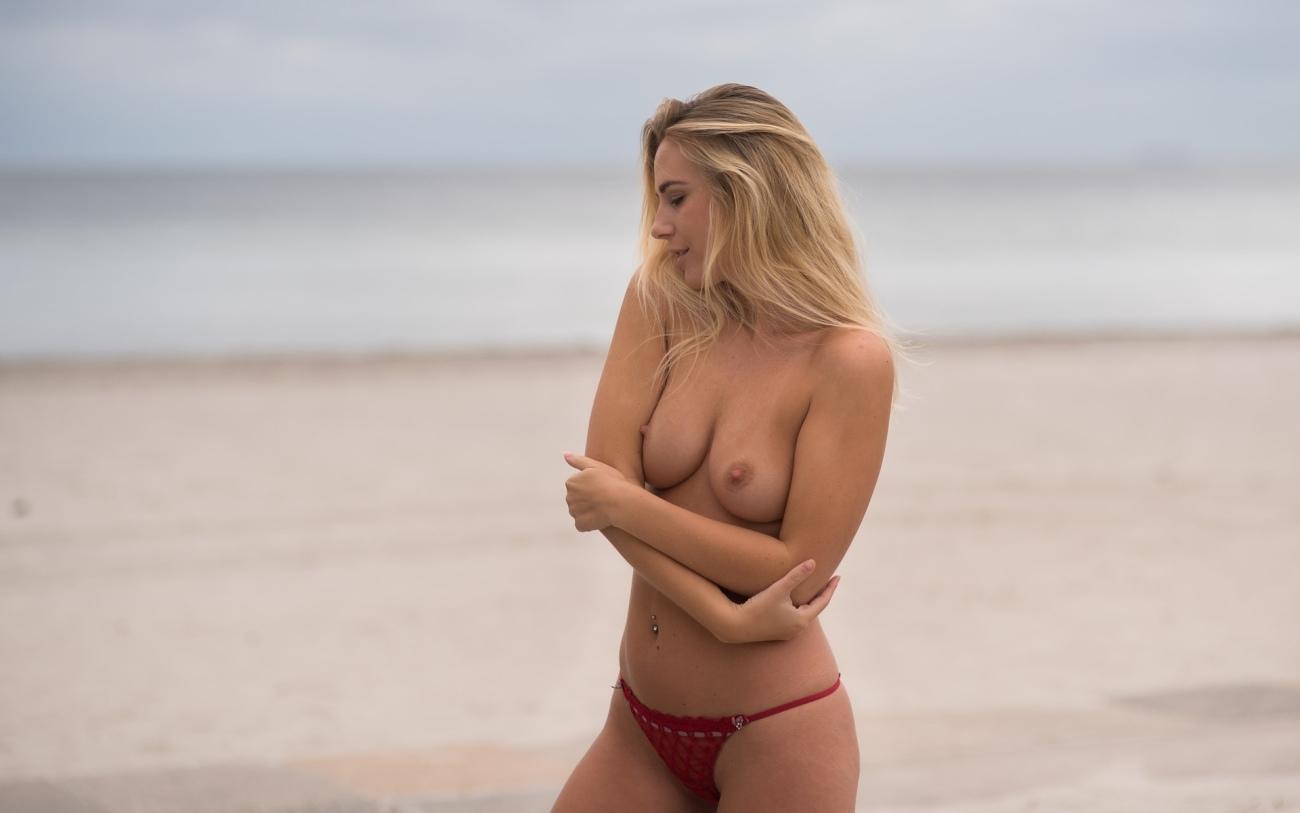 Wallpaper Sexy Model Tits Girl Breast Panties Nipples Topless Black Inga Lis Sungatullina