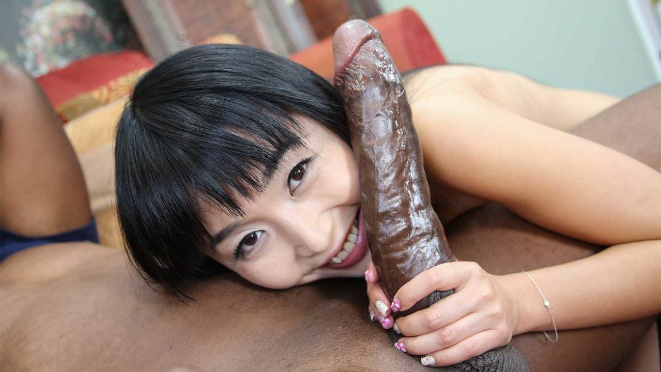 Watch Asian Scared Of Black Dick