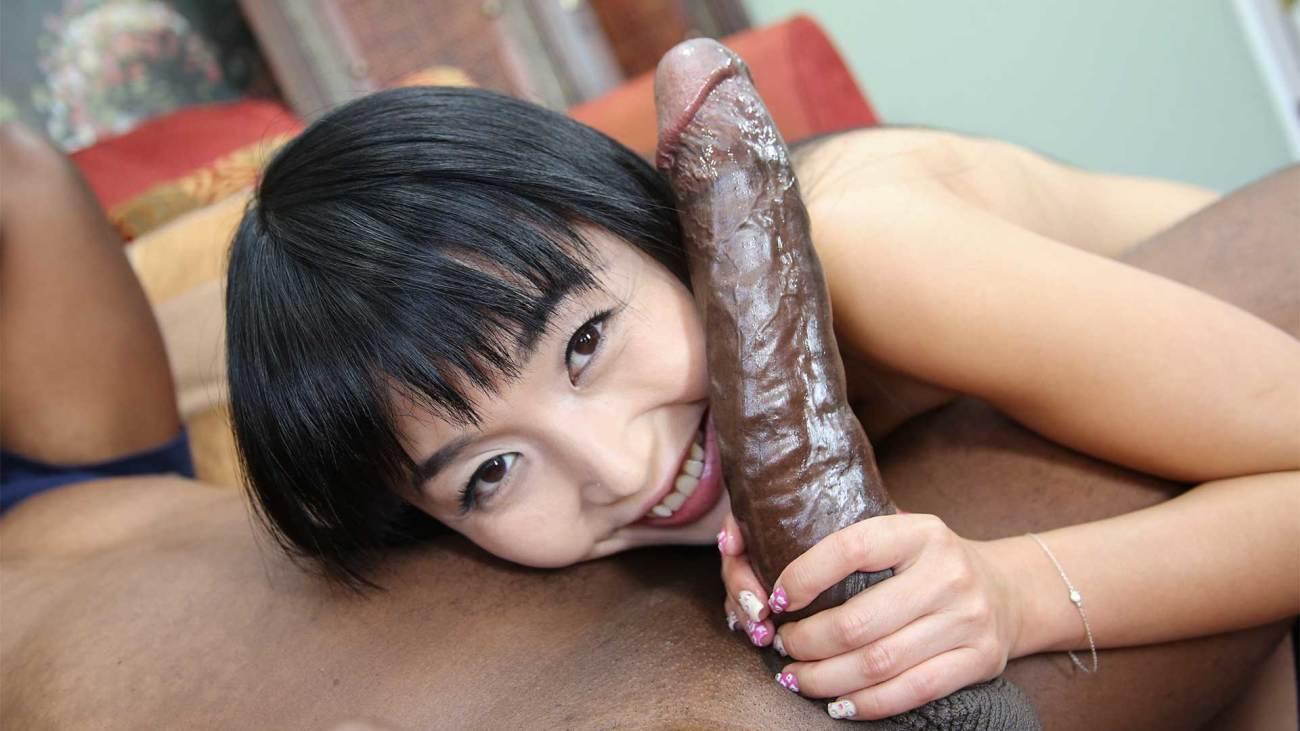 Black cock japanese girl