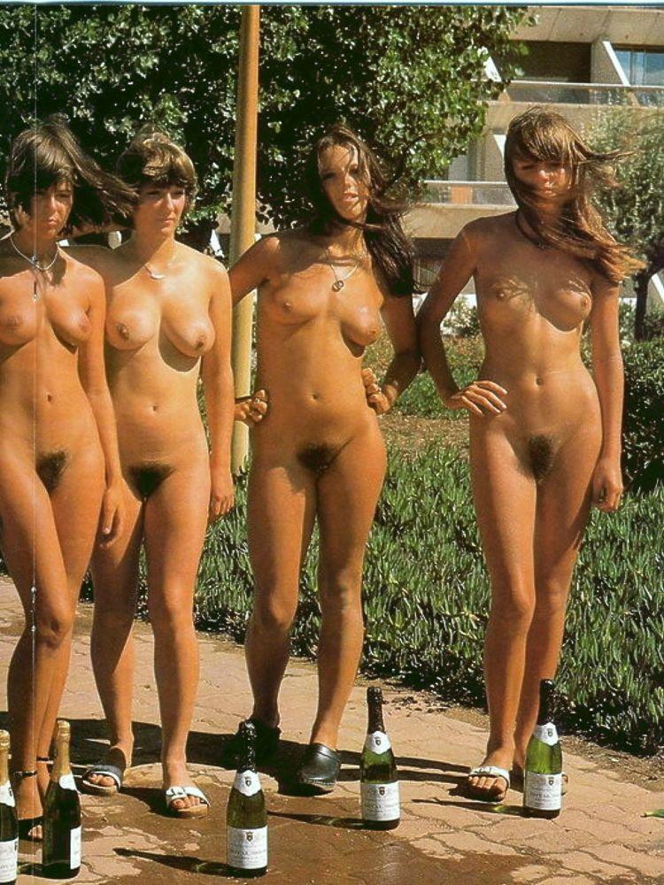 Nudist Vintage Girl Naked - PORNO..