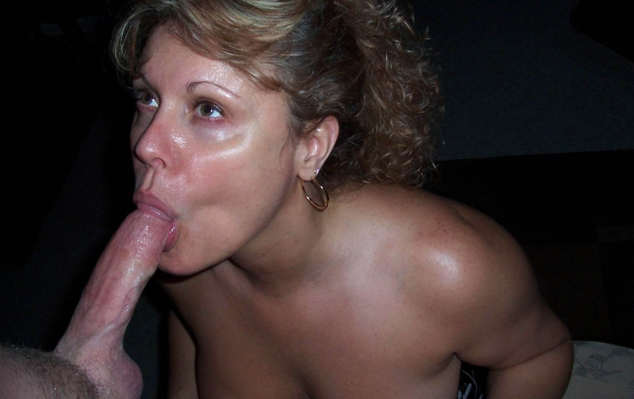 Amateur Mature Wife Blow Job
