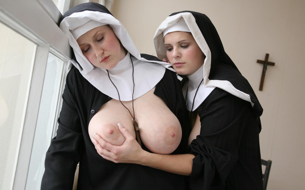 Naked nuns with big tits