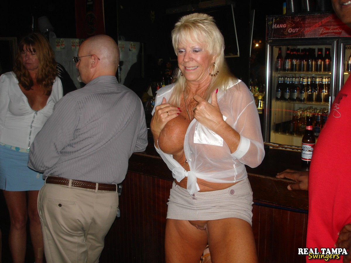 Real Tampa Swingers Our April Bar..