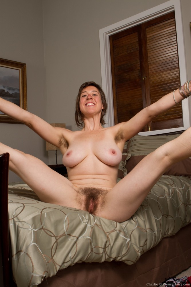 PinkFineArt Charlie spreads long..