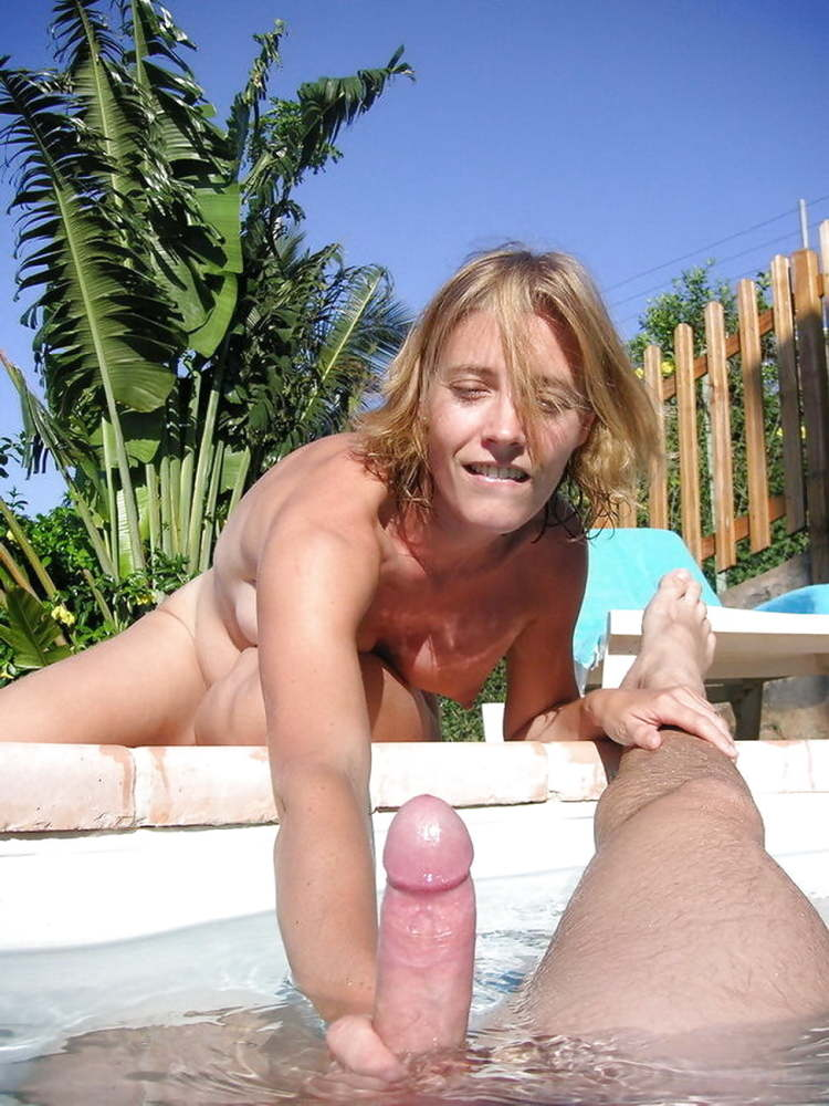 Swimming Pool Handjob