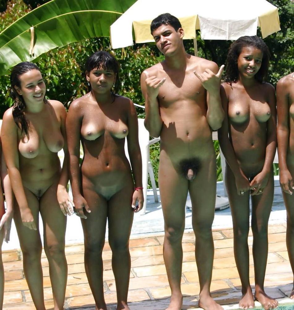 Brasil Nudist Colony Voyeur..