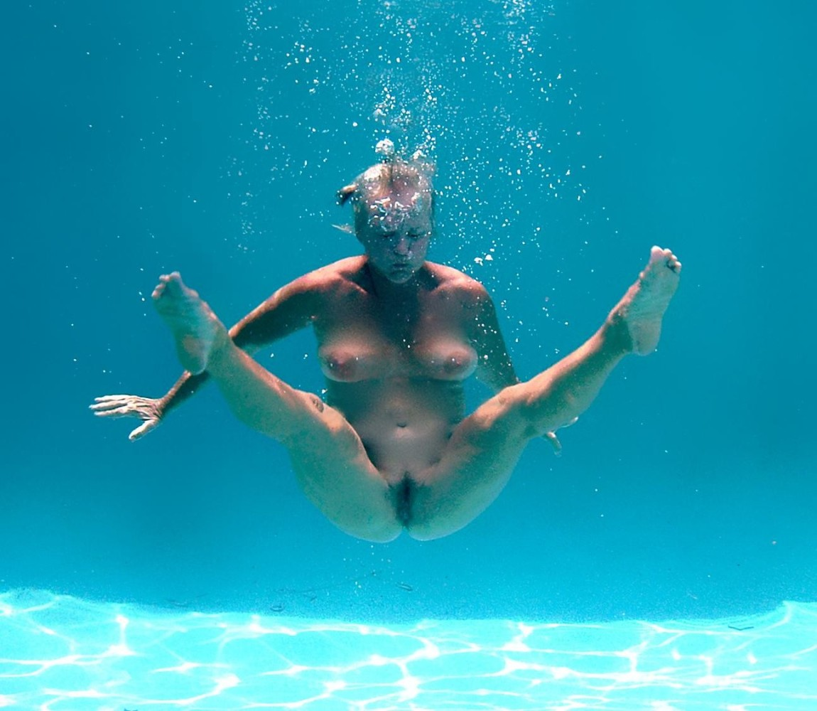 Forced to swim naked