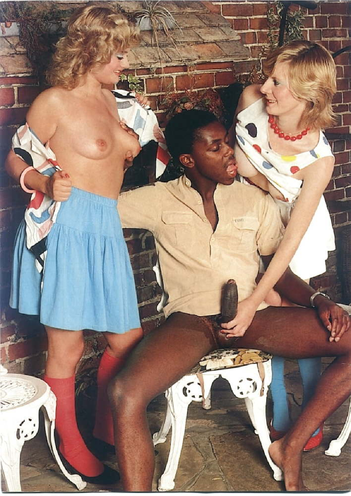 Vintage Interracial Blowjobs