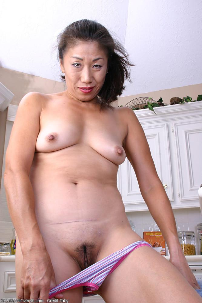 mature asian woman habitation..