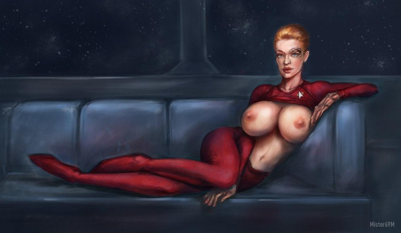 star trek women fake nude photo..