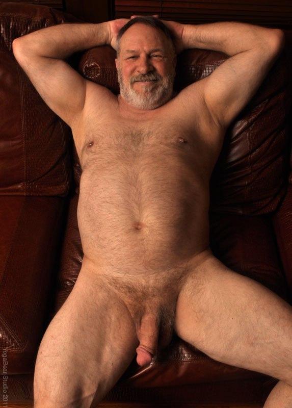 Naked bald older men nude