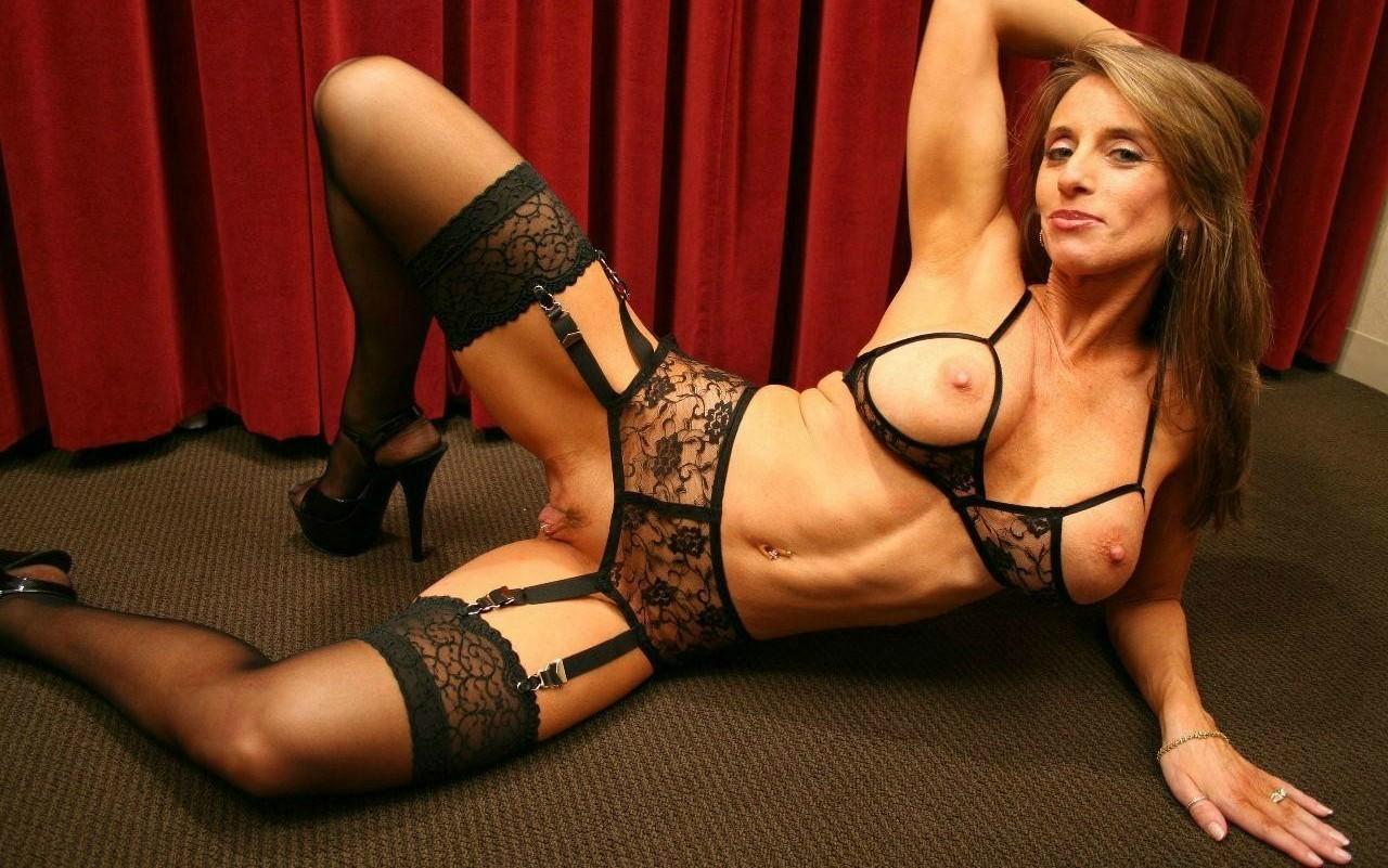 Striptease porn watch stocking milf slut nikita bellucci masturbating