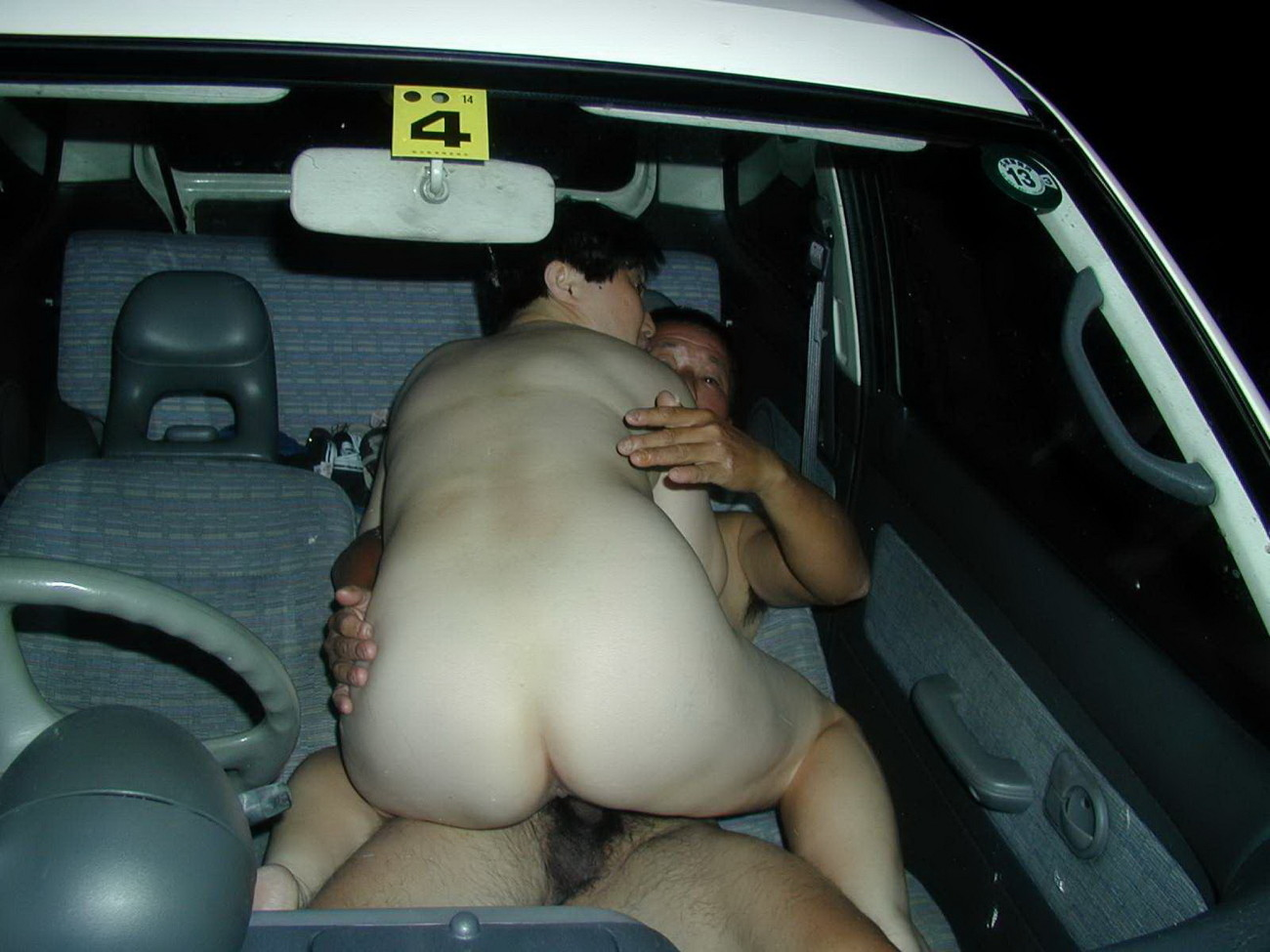 Nasty Lesbian Sex In The Car