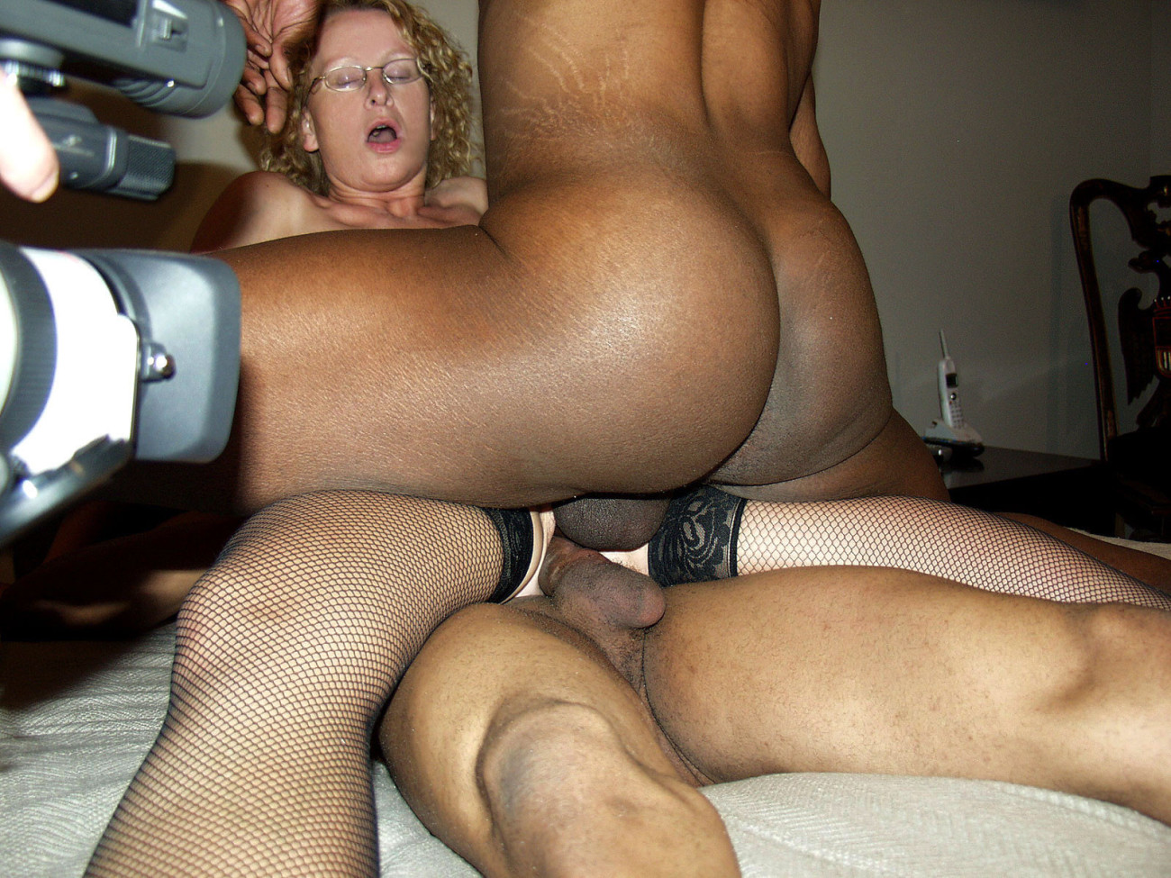 British slut wife loves dp with two men