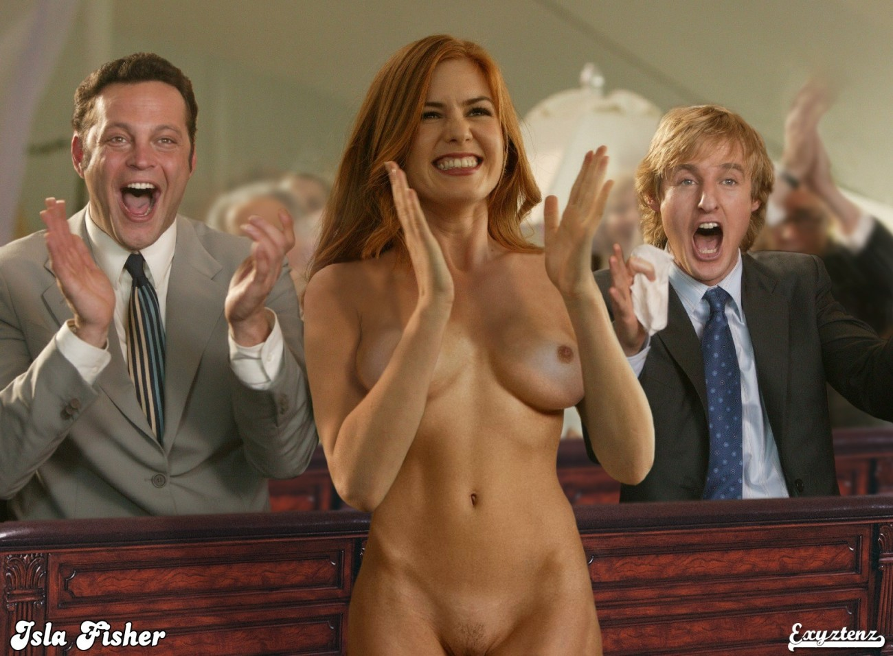 Isla Fisher Nude
