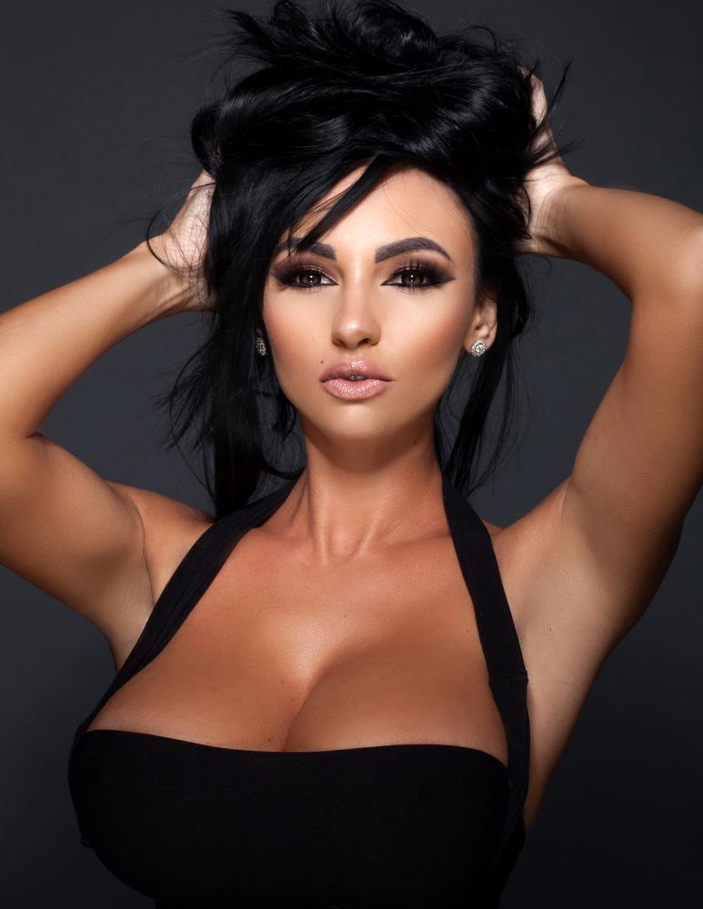 Iryna Ivanova on the top of the..