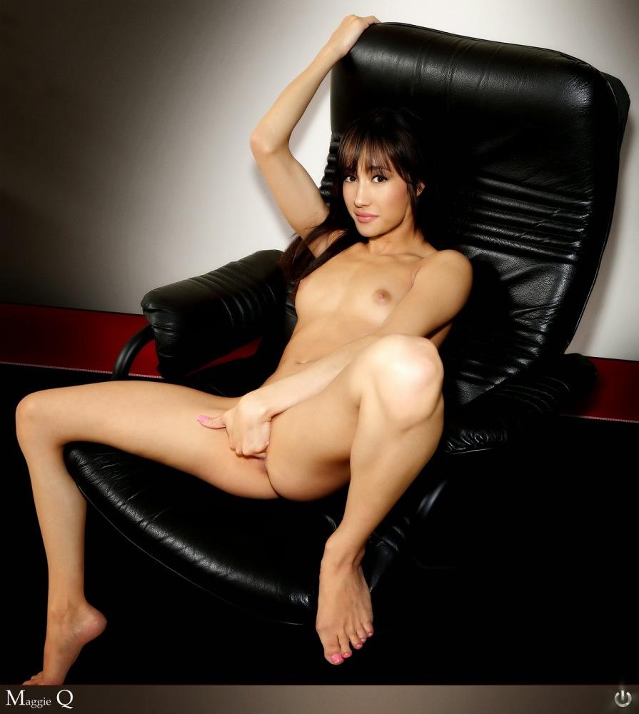 Maggie Q Naked Celebritys