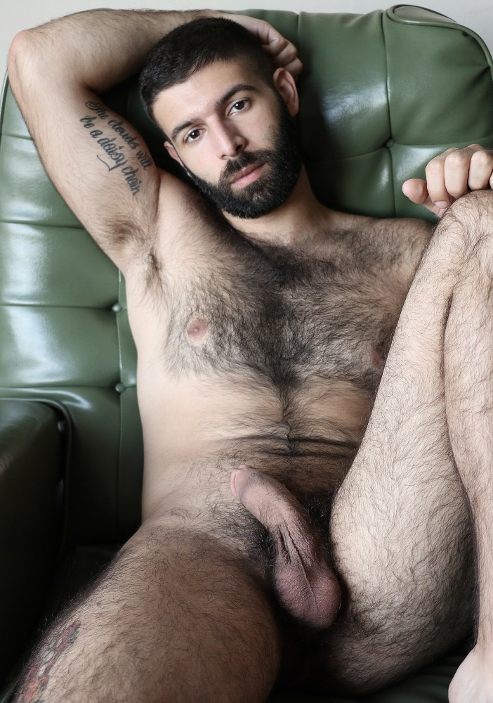 Naked hairy hunk vincent greco