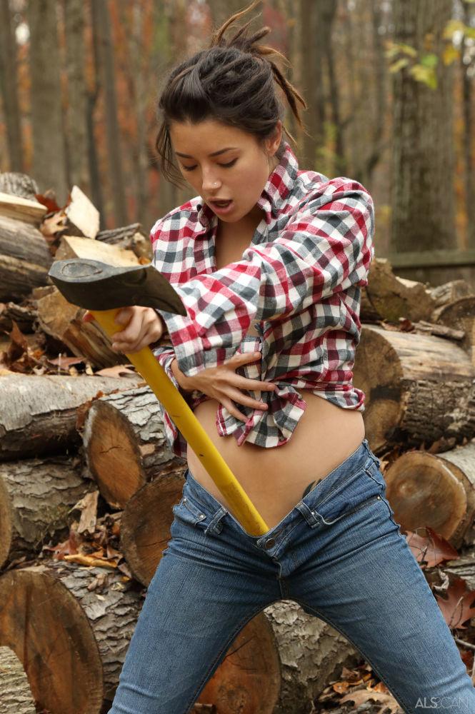Daisy Haze - Lumberjill (ALS Scan)