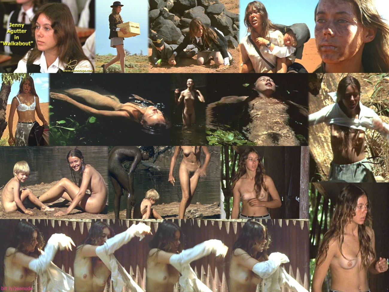 Naked Jenny Agutter In Walkabout Ancensored