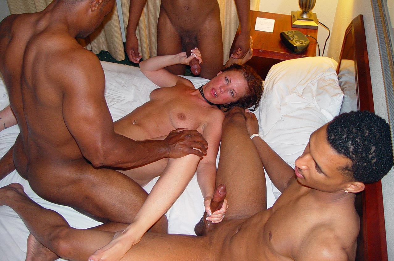 Watch interracial orgy with swingers