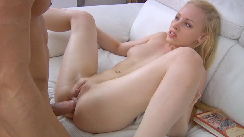 Petite Russian Girl Fingering Pussy